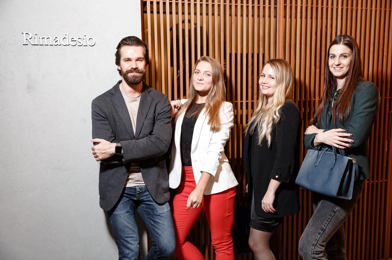 официальное открытие салона Rimadesio
