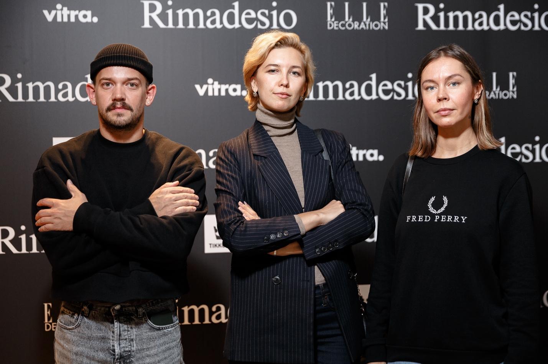 гости на открытии салона Rimadesio